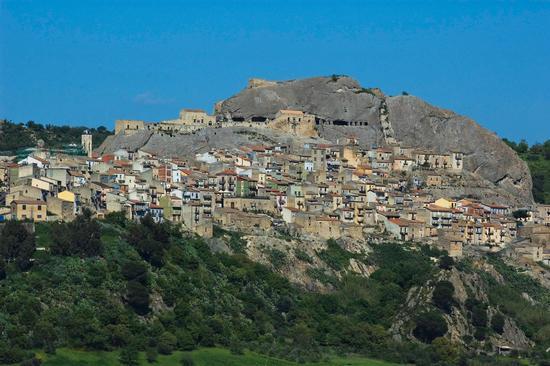 Panorama sul paese Medievale - Sperlinga (4616 clic)