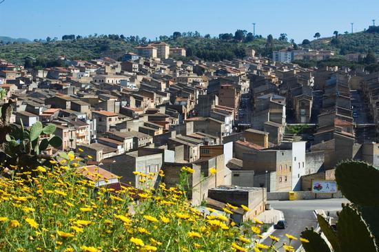 Panorama sul paese - Vallelunga (3093 clic)