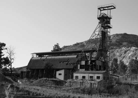 Macchinari per l'estrazione zolfo - Riesi (2749 clic)