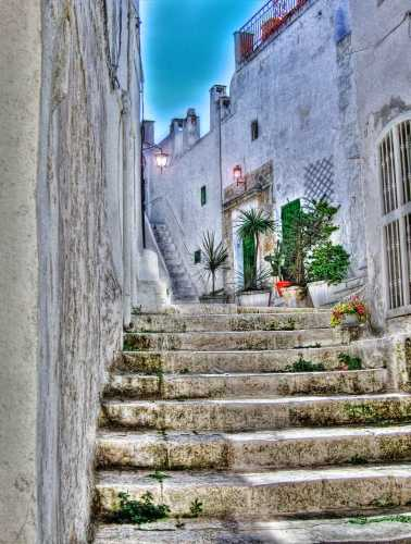 narrow streets of Ostuni (4719 clic)