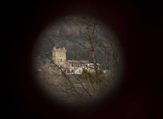 Dalla cornice - Assisi (2049 clic)