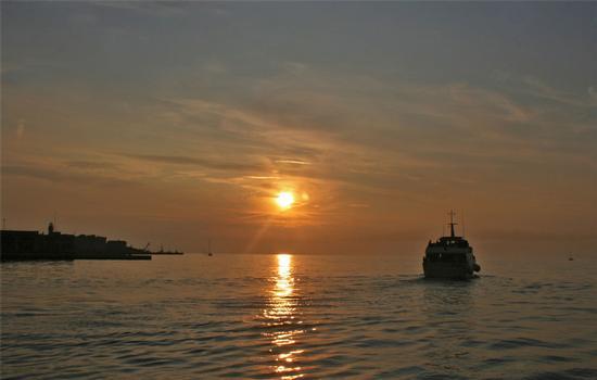 Verso il tramonto - Trieste (1996 clic)
