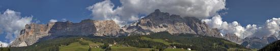 Panoramica da La Villa - Val badia (1920 clic)