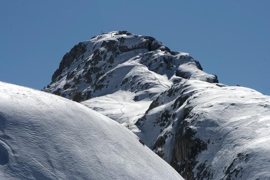 Sass de Stria, via normale in invernale - Val badia (3195 clic)