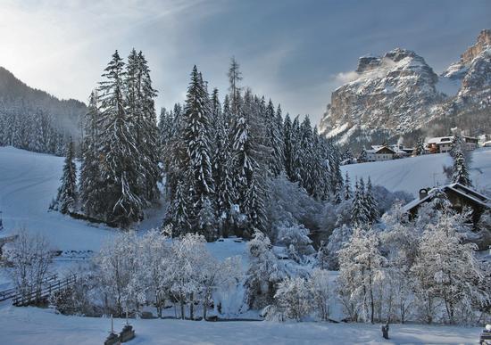 Dopo una bella nevicta - La villa (3003 clic)