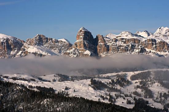Atmosfera invernale in Alta Badia - Corvara in badia (3051 clic)