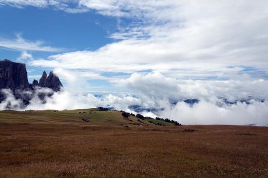 Alpe di Siusi: il sereno dopo la pioggia - Siusi allo sciliar (2065 clic)