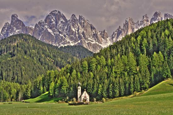 Chiesetta di Ranui in Val di Funes  (2567 clic)