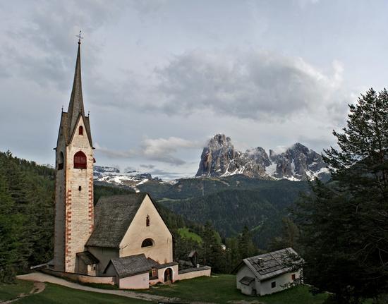 Panoramica da San Giacomo - Ortisei (5201 clic)