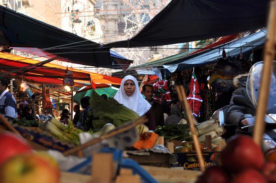 il natale al mercato ballarò (Palermo) (2660 clic)