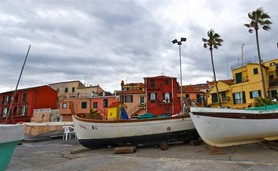 Barche a Borgo Foce - Imperia (4405 clic)