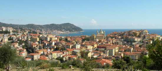 Veduta di Porto Maurizio - Imperia (5101 clic)