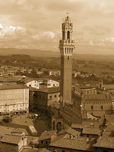 piazza del campo - Siena (2200 clic)