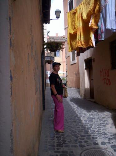 Viuzza al borgo - Nettuno (2429 clic)