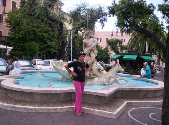 Fontana col dio Nettuno  (8290 clic)