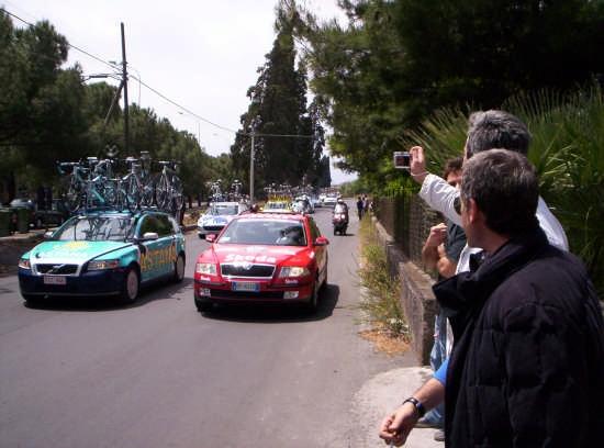 91° Giro ciclistico d'Italia - PATERNÒ - inserita il 19-May-08