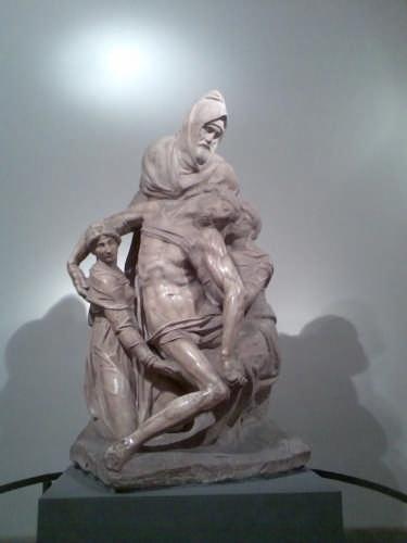 La Pietà dell'Opera del Duomo di Michelangelo - Firenze (11010 clic)