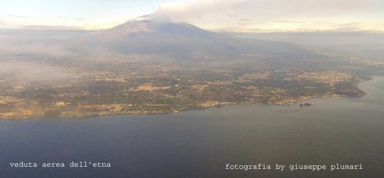veduta aerea dell'etna (1500 clic)