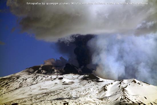 eruzione 2012 marzo 4 - Etna (1765 clic)