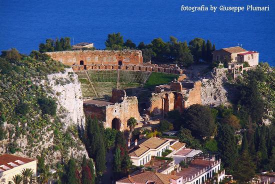 teatro greco  - Castelmola (737 clic)