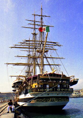 NAVE AMERIGO VESPUCCI - Catania (3743 clic)