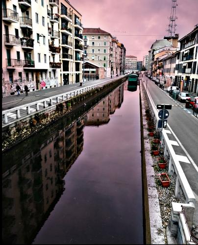 La via dei Navigli - Milano (328 clic)
