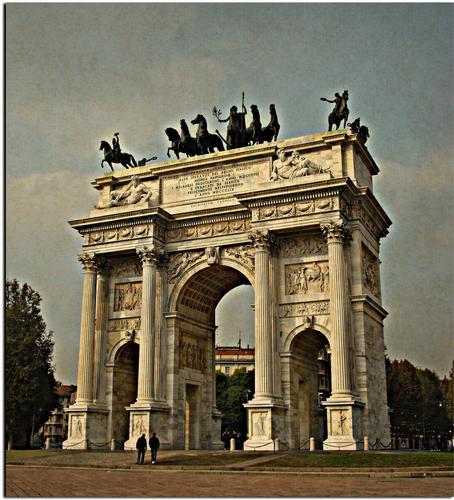 Arco della Pace - Milano (1394 clic)