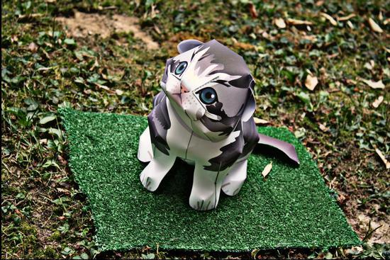Paperkraft Cat - Melzo (654 clic)