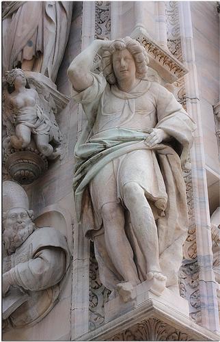 Dal Duomo di Milano (1712 clic)