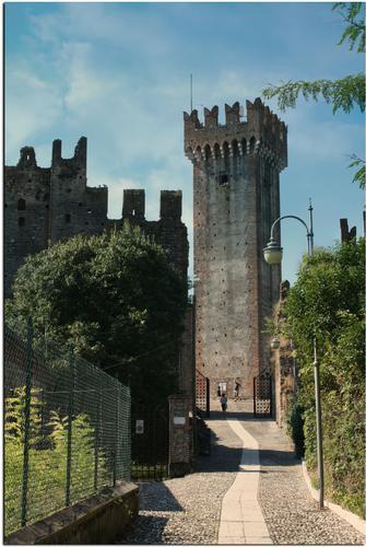 Il Castello di Valeggio sul Mincio (1212 clic)