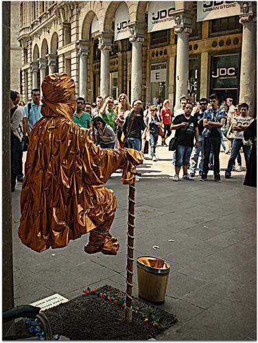 Artista di Strada - Milano (929 clic)