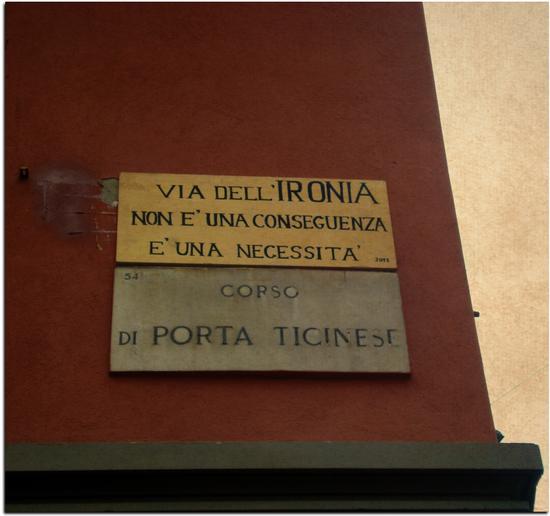 Via dell' Ironia - MILANO - inserita il 02-Mar-12
