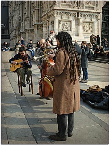 Artista di Strada - Milano (1245 clic)