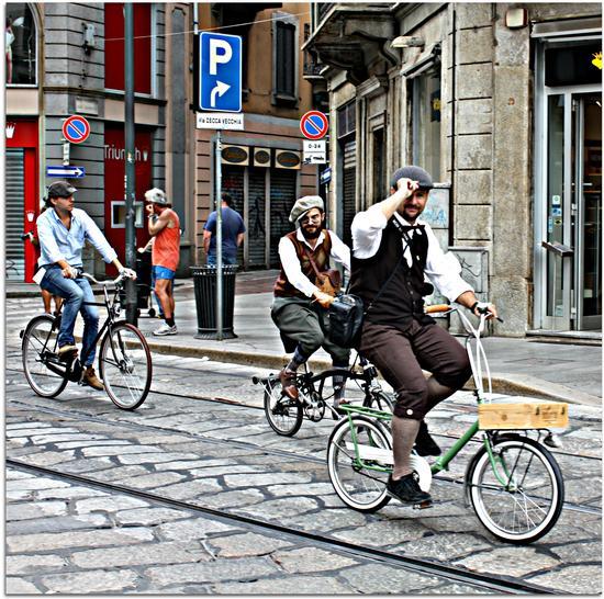 Pedalando e Ballanco al Tweedride - Milano (779 clic)