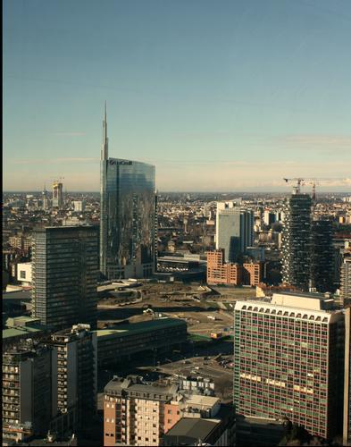 Vista dal Belvedere Pirellone - Milano (755 clic)