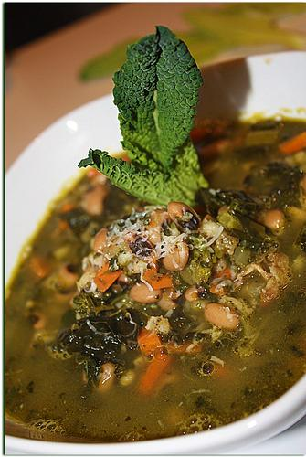 Zuppa di fagioli con - Melzo (2070 clic)