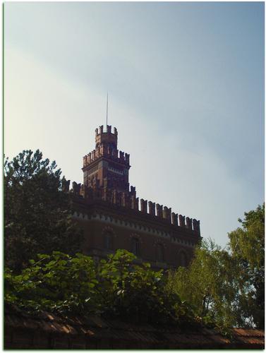 Il Castello dei Crespi - Crespi d'adda (1799 clic)