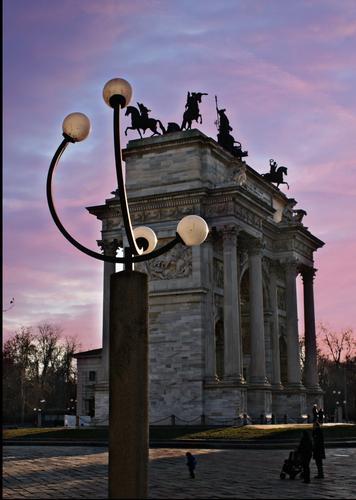 Porta Sempione - Milano (327 clic)