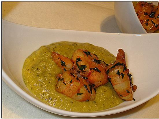 Gamberoni alla Curcuma e Curry su...... - Melzo (1626 clic)