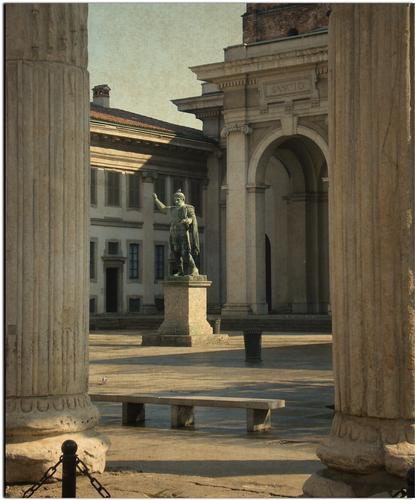 Basilica di San Lorenzo - Milano (1910 clic)