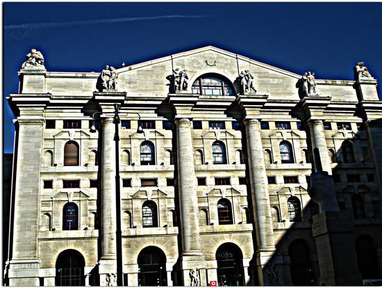 La Borsa - Milano (1062 clic)