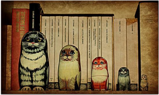 Matryoshka cat - Melzo (696 clic)