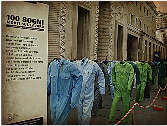 Cento Sogni Morti Sul Lavoro - Milano (3608 clic)