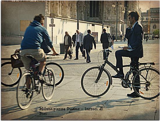 Incroci di bici - Milano (759 clic)