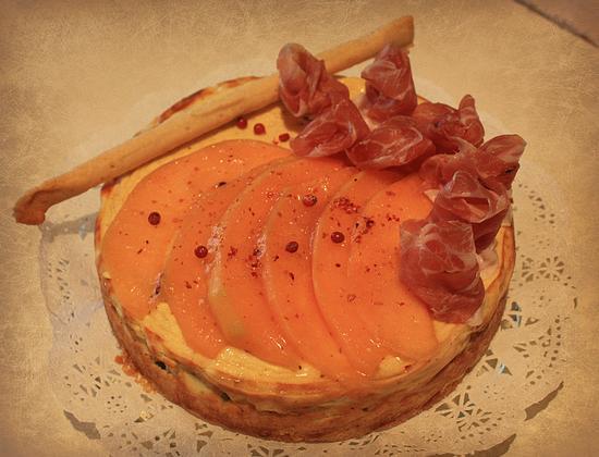 Cheesecake Philadelphia al Prosciutto e Melone - Melzo (3214 clic)