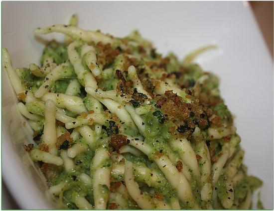 Trofie con crema di Broccoli e .... - Melzo (537 clic)