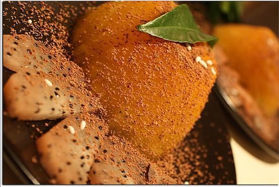 Gelo di Mandarino accompagnato da fettine di Pithaya  - Melzo (585 clic)
