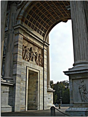 Arco della Pace - Milano (2183 clic)