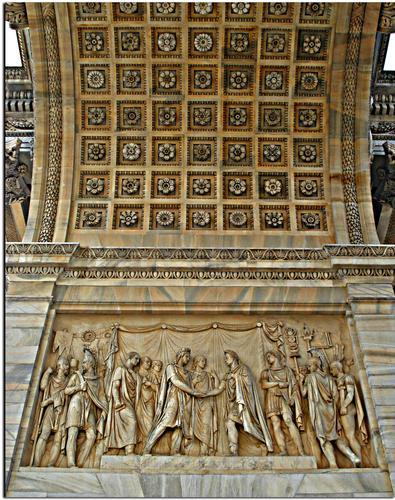 Arco della Pace  - Milano (1499 clic)