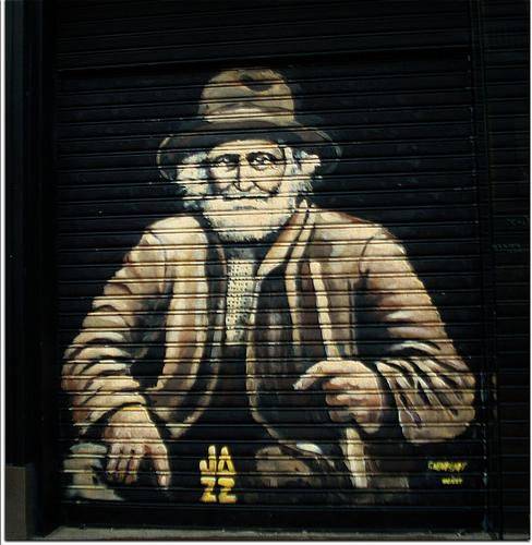 Murales su serranda - Milano (1404 clic)